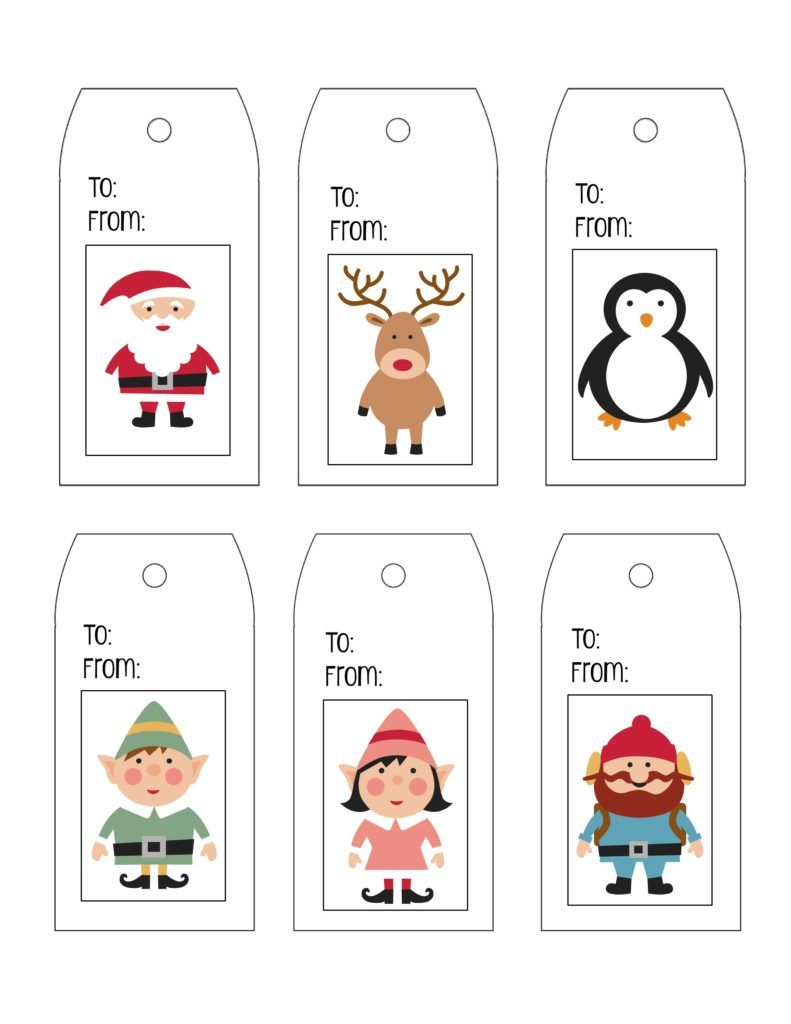 Printable Gift Tag Templates   Tag Templates Template And Gift