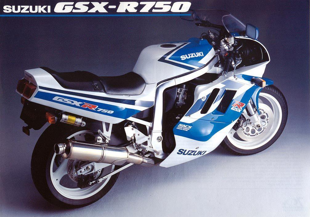1991 Suzuki GSX-R 750 #Motorcycle #Sportsbike #Suzuki