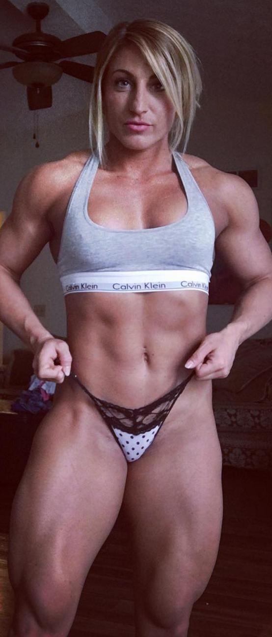 Brandy Moore Fitness Muscle Motivation Girlpower Muscle Girls Fit Women Sports Bra
