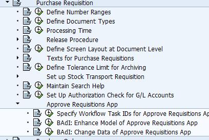 SAP Standard Fiori Apps : PR Approval Process | Sapspot News