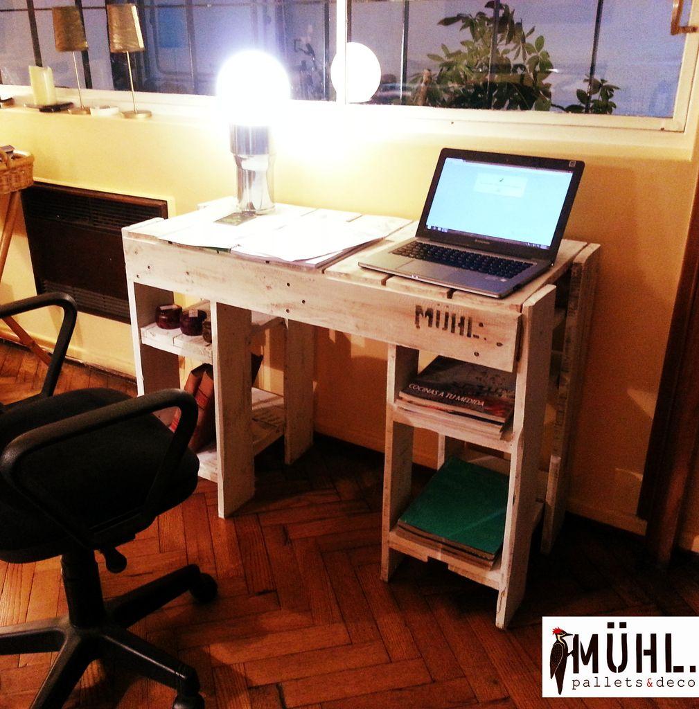 escritorio con estantes comprar en muhl