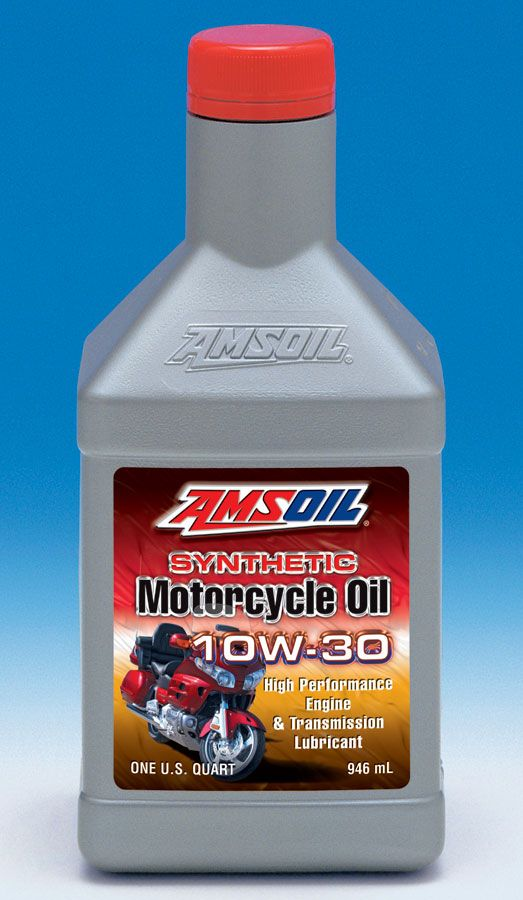 Amsoil Sae 10w 30 Synthetic Motorcycle Oil Mct A Premium Oil