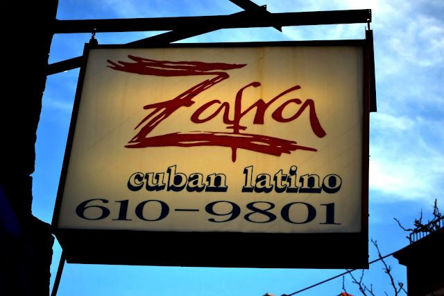 Awesome Latin food @ corner of 3rd & Willow
