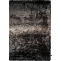 Photo of benuta Essentials Shaggy Rug Whisper Anthracite / Gray 80×150 cm – Bed Mat for Bed
