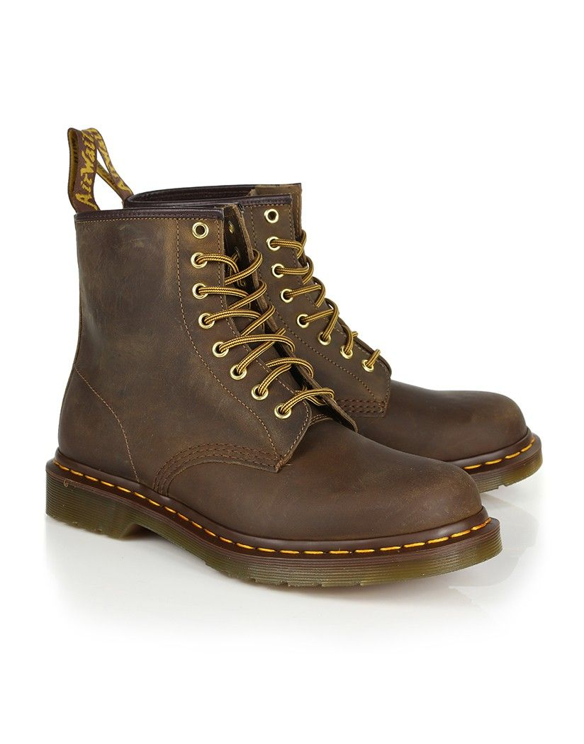 2fe43702 Rugged men's Dr Martens Men's 1460 8 Eye Boots - Aztec Crazy Horse just in  time for the new season!