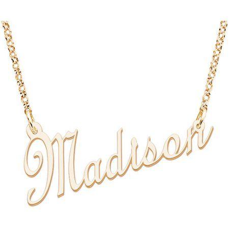 Jewelry Planet Jewelry Name Necklace Walmart Jewelry