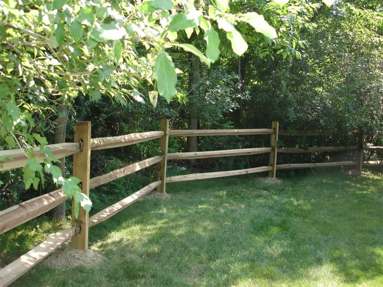 Good Split Rail Backyard Fences Backyard Fences Diy Garden