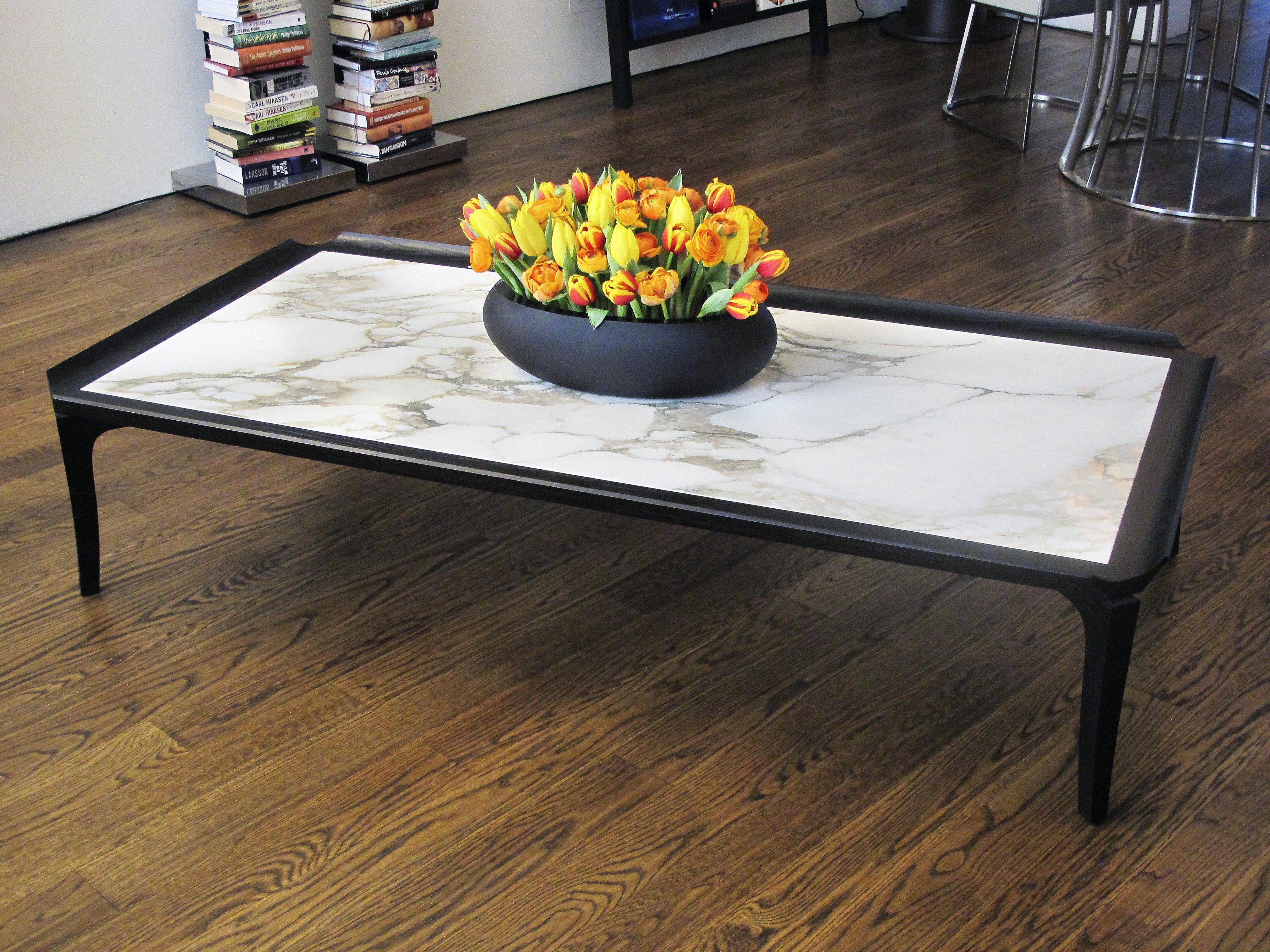 MOOD Shogun Coffee Table:  An elegant rectangular low #coffeetable from renowned Italian furniture makers #flexform. #luxuryfurniture #livingroomdesign