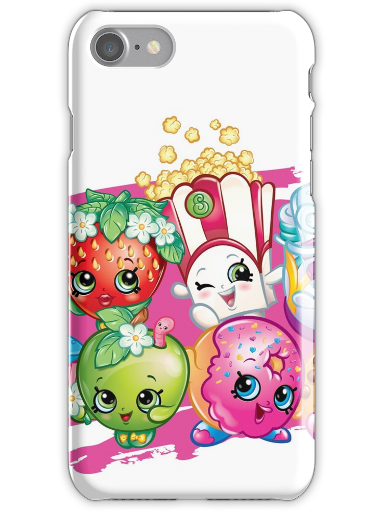reputable site 6cb19 f3f78 Shopkins iPhone 7 Snap Case | Products | Phone cases, Iphone, Phone
