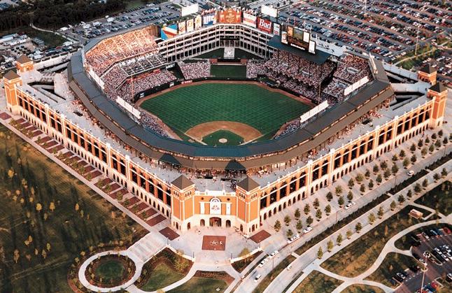 The Ballpark In Arlington Texas Rangers Places To Go Ballparks Places