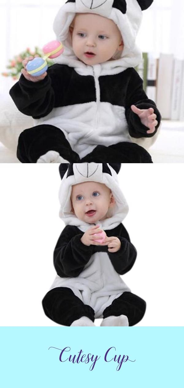 Newborn/Infant Baby Panda Suit #babypandas