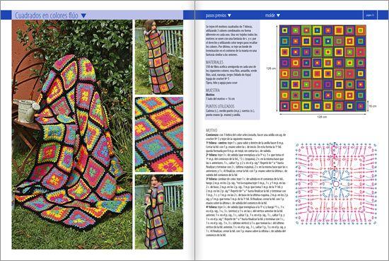 #Crochet MANTAS Nº 02 - Edición Especial 2014 www.eviaediciones.com