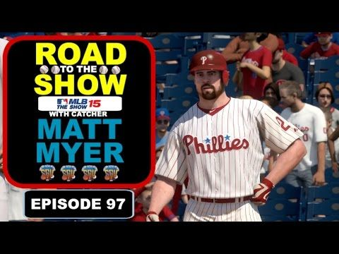 MLB 15 The Show (PS4): Matt Myer (Catcher) Road To The Show - EP97