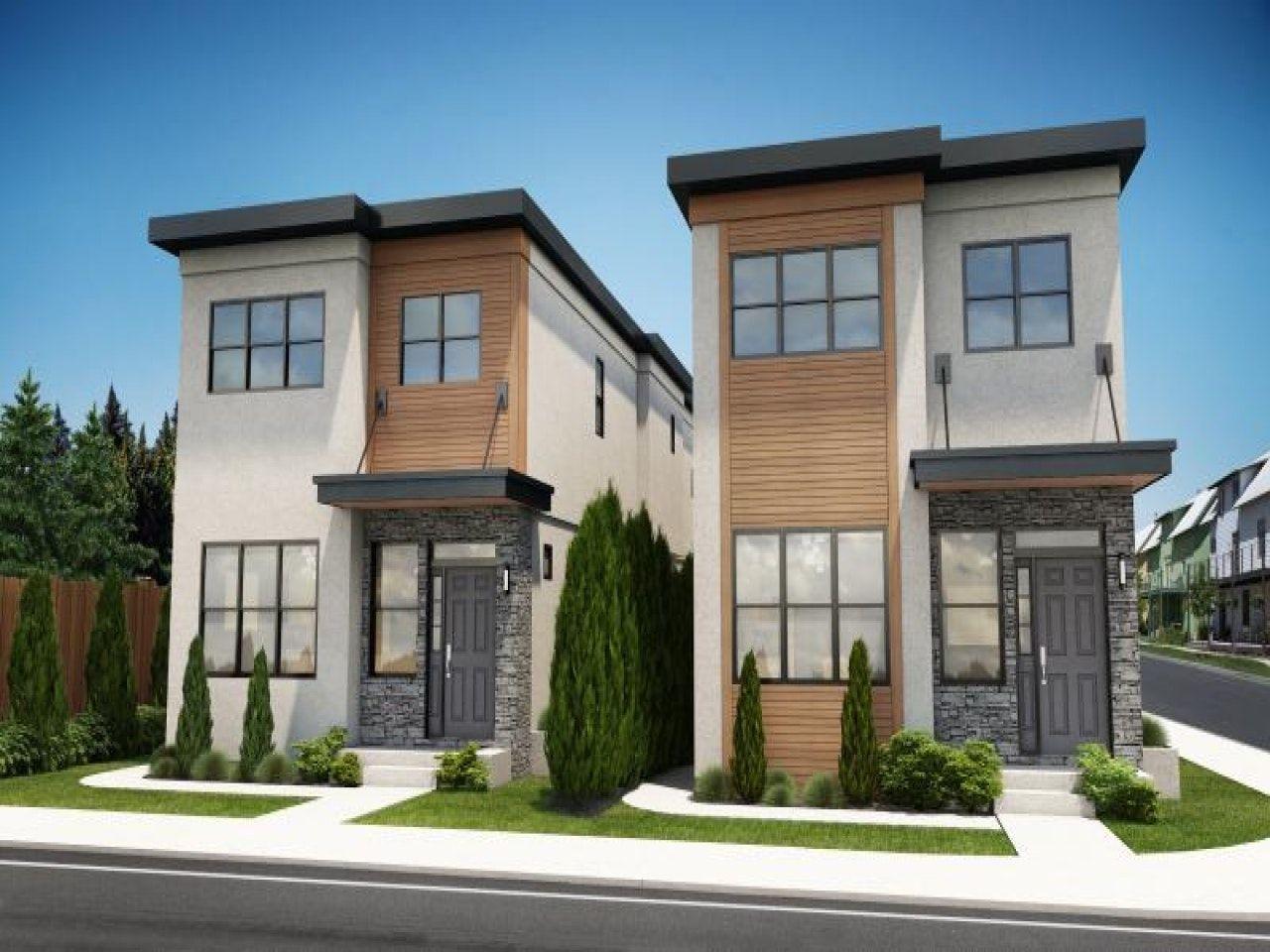 Amusing Narrow Lot Modern Infill House Plans Photos Best Idea Narrow House Plans Narrow Lot House Plans Duplex Design