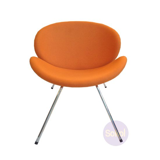 Replica Pierre Paulin Orange Slice Chair Cashmere | Sokol Designer Furniture