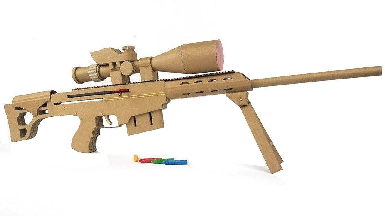 DIY wooden sniper rifle 41