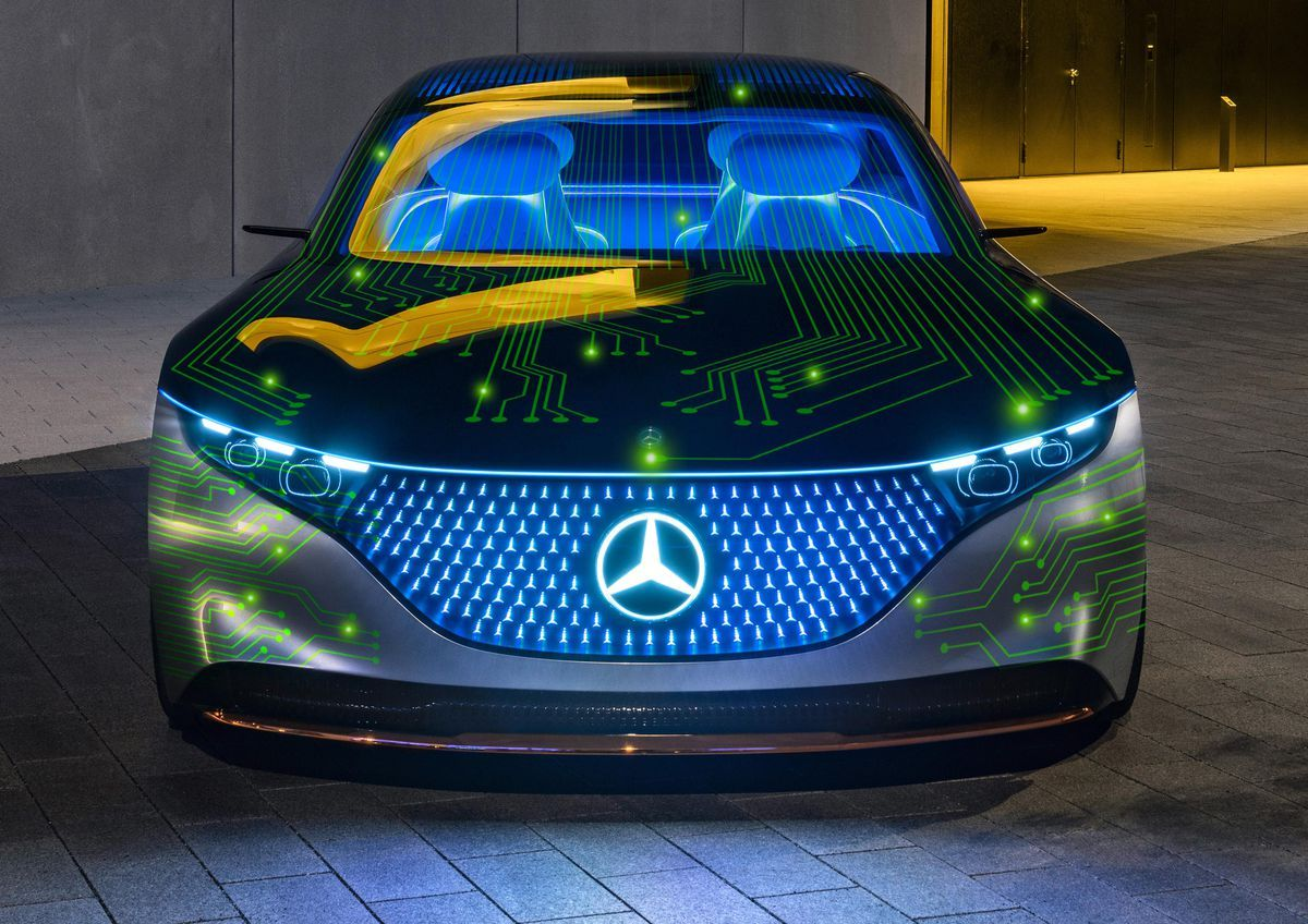 Mercedes-Benz And Nvidia Want To Make The World's Most Advanced Autonomous Cars