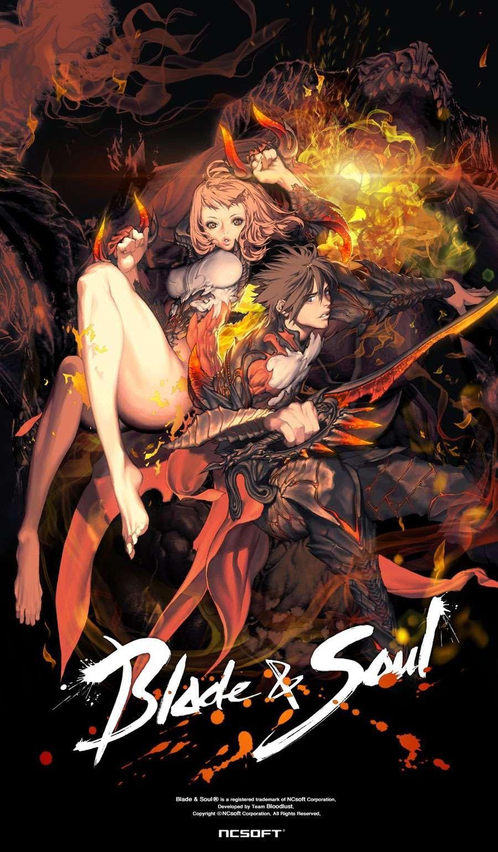 Promo Artwork Blade and soul anime