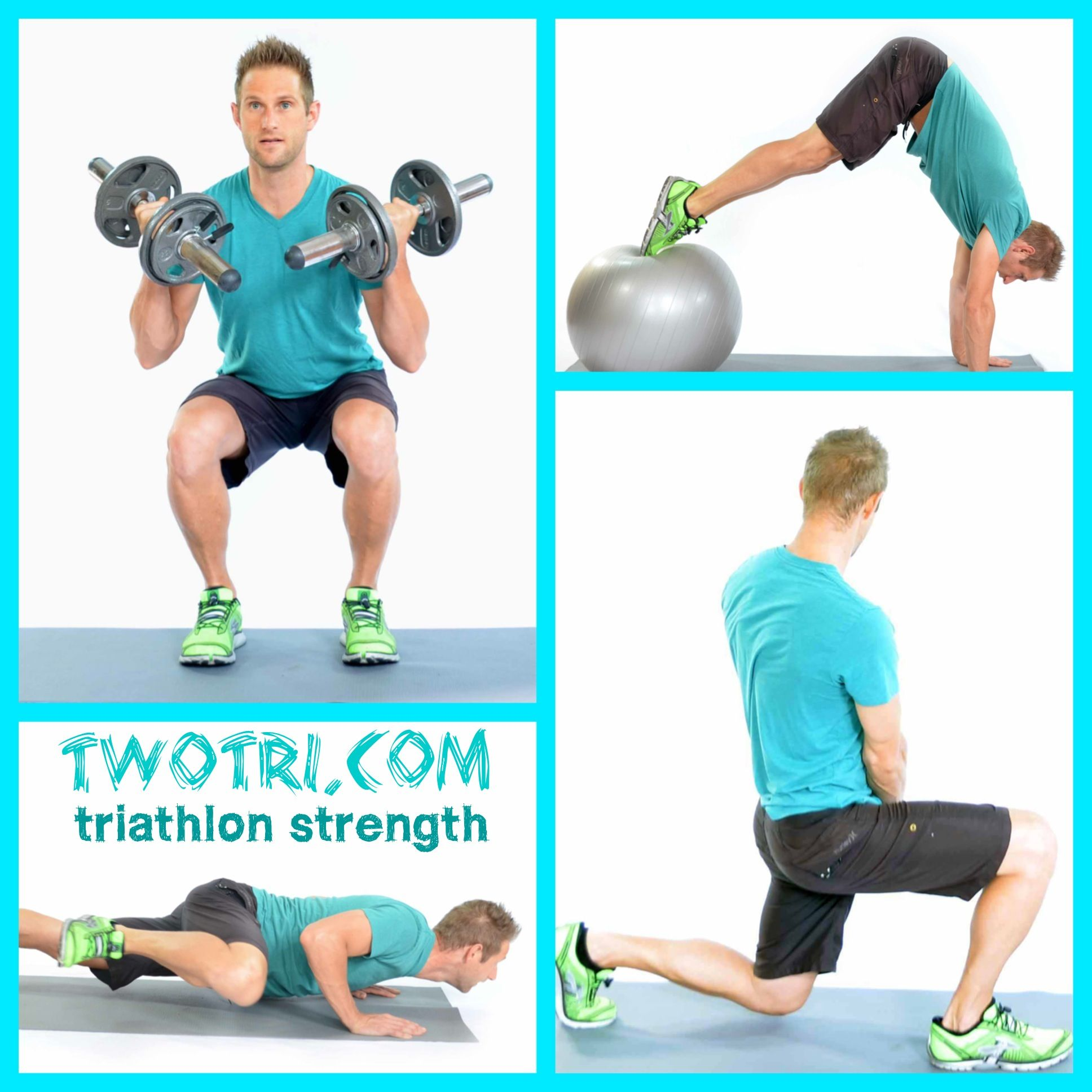 Strength Training For Cycling: Triathlon Strength Training- Time Saving Combo Moves