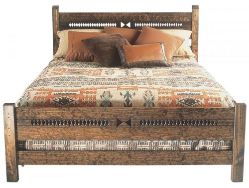 Priest Queen Bedframe Southwest Furniture Santa Fe Style
