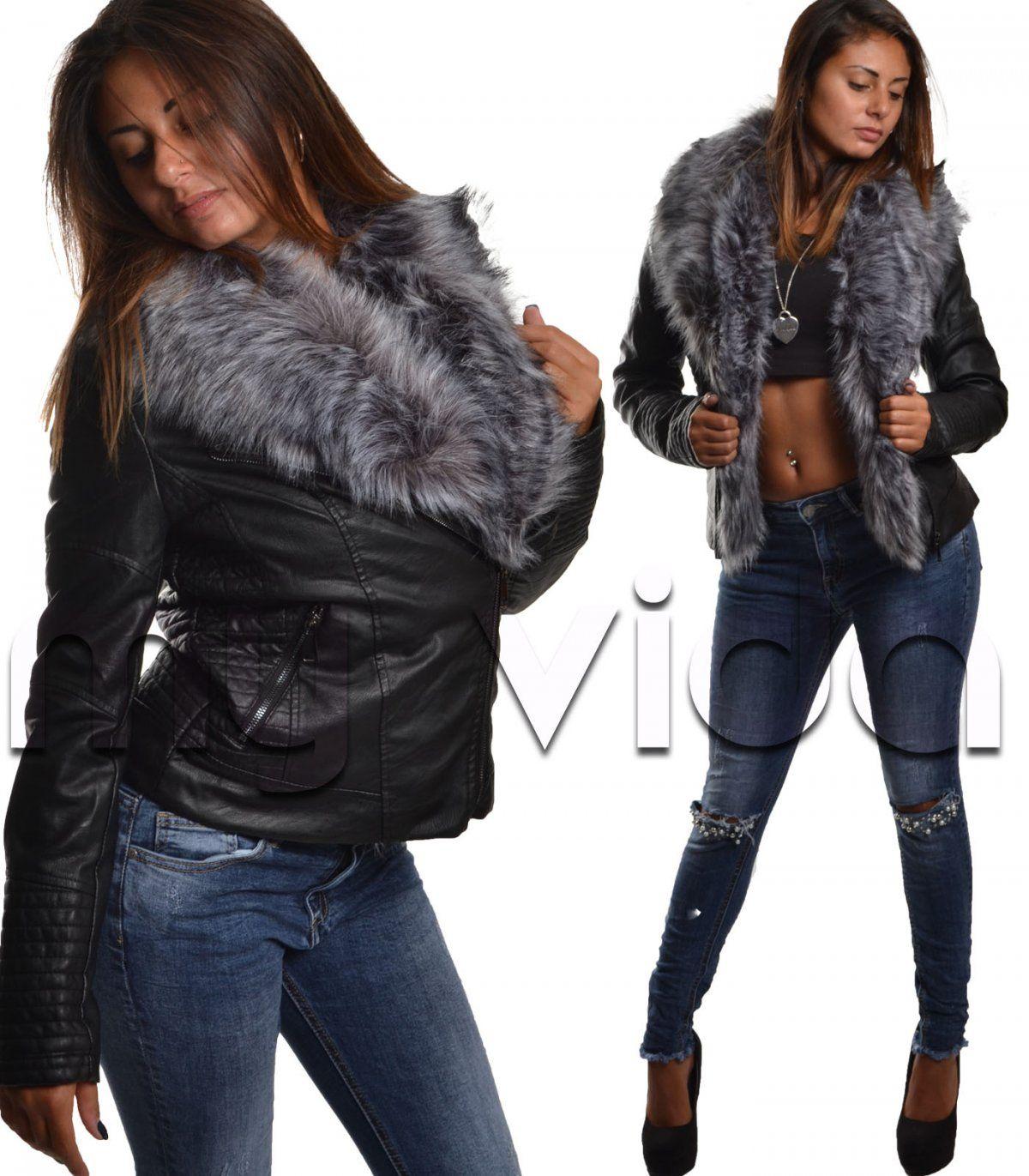 huge discount e1d5b cbc85 Pin su Donna giubotti giacche