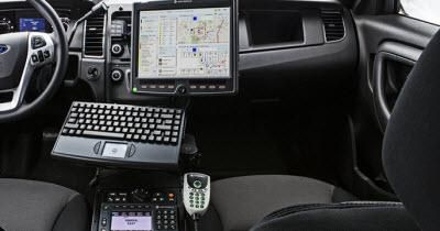 Motorola S Futuristic Police Car Is Loaded With Computers And