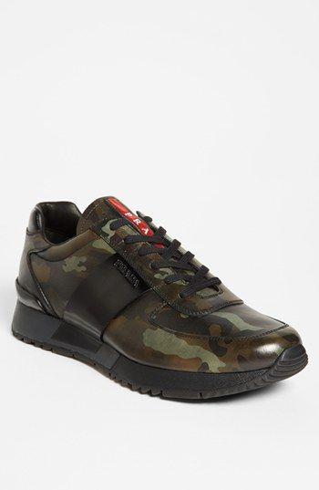 Prada Camo Sneaker available at  Nordstrom  63729e53ed