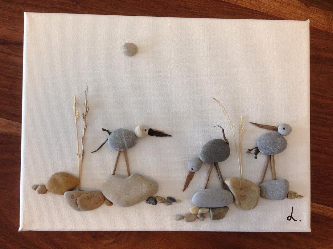 Pin von heidi creativ auf steinbilder pinterest steine steinbilder und kunst - Steinbilder auf leinwand ...