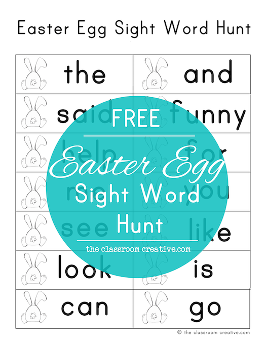 This FREE activity is easy, simply print our sight word worksheet ...
