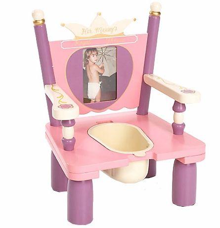 Her Majesty's Throne Potty Chair