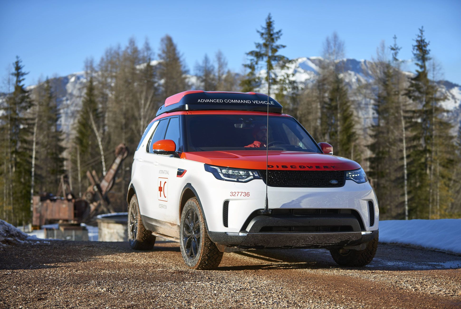 With project hero jaguar land rover svo modified a discovery to help the austrian red