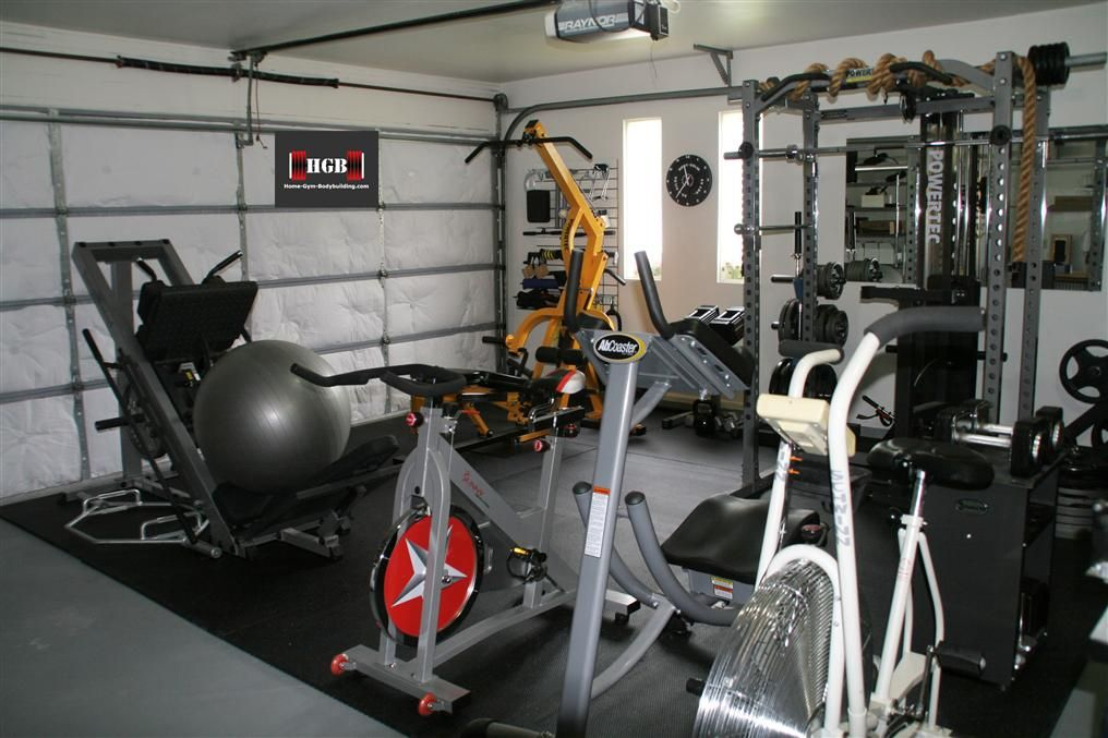 Garage gym alexandra khouri carmen my body