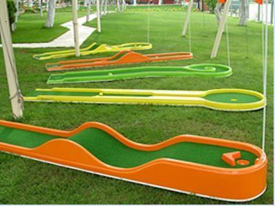 Source Six Course Minigolf Set For Juniors On M Alibaba Com Mini Golf Miniature Golf Course Miniature Golf