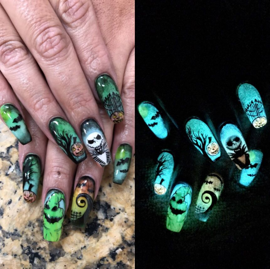 This Texas Womans Nail Art Will Make You Want To Drive To Corpus