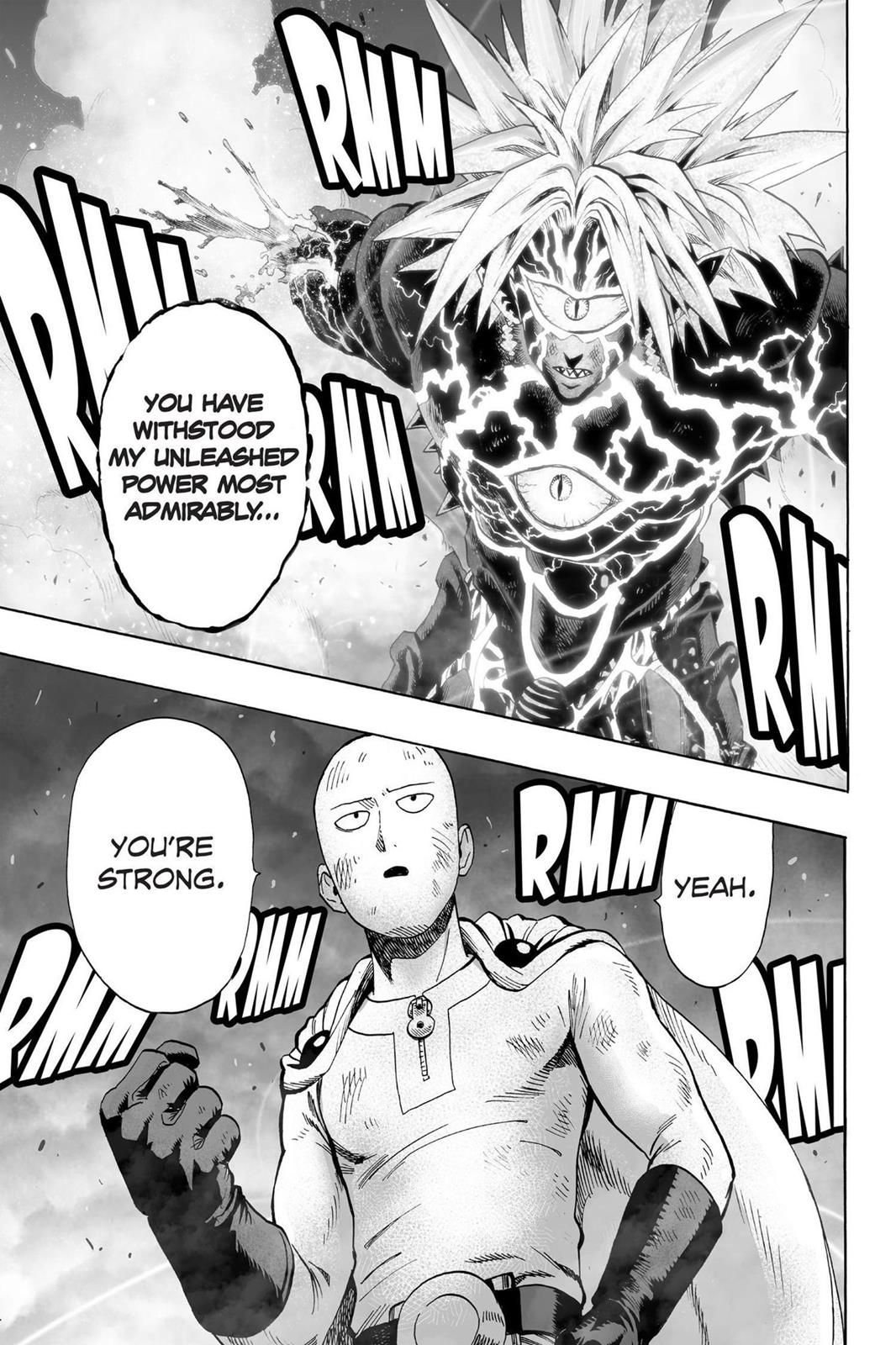One Punch Man Chapter 034 (With images) One punch man