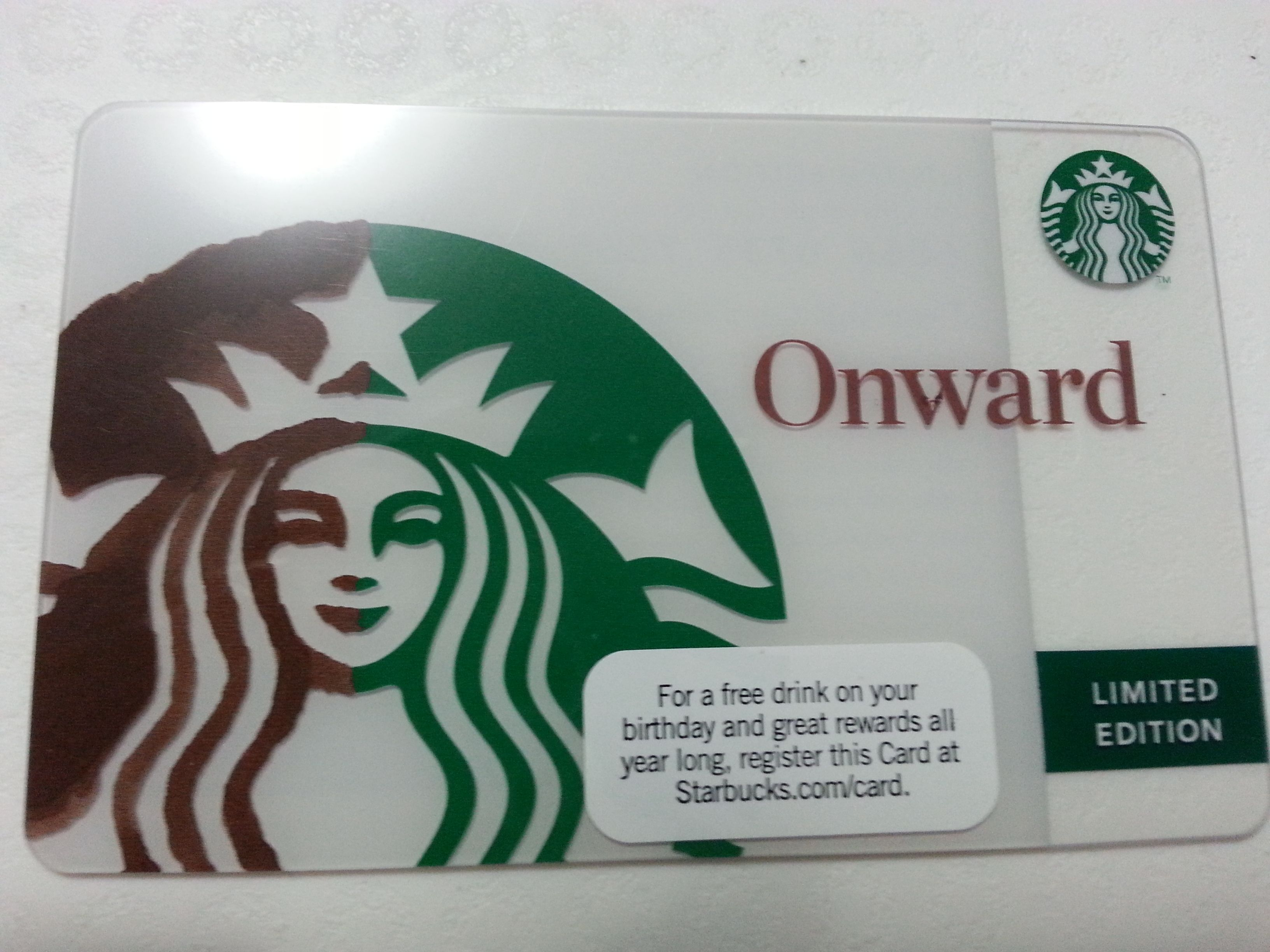 Looking for theis Starbucks Card 2010 ward Message me