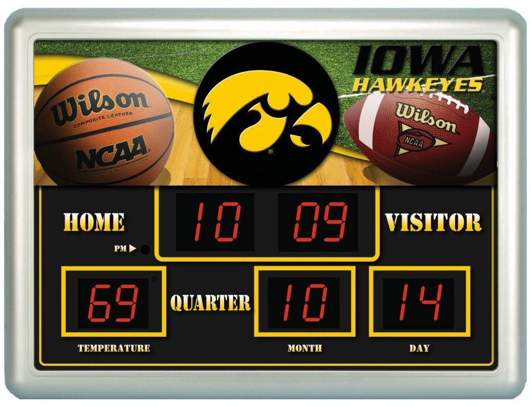 buy popular 22a53 95a32 Iowa Hawkeyes Clock - 14