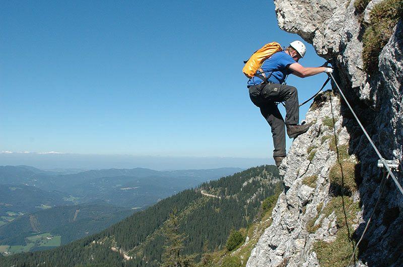 Klettersteig Niederösterreich : Klettersteigtour in niederösterreich am hochkar outdoorsport