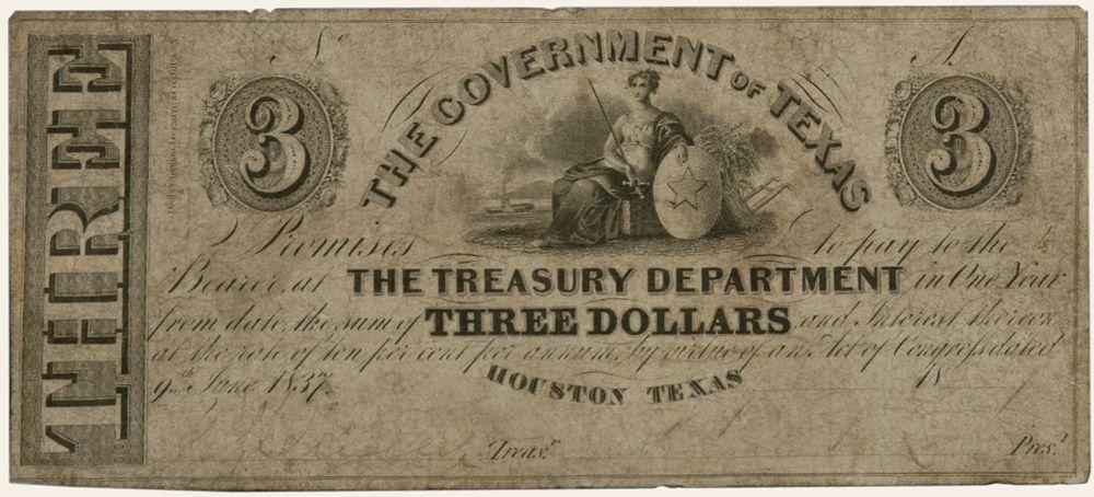 3 dollar bill amerika konfederasyon birleşik devletler