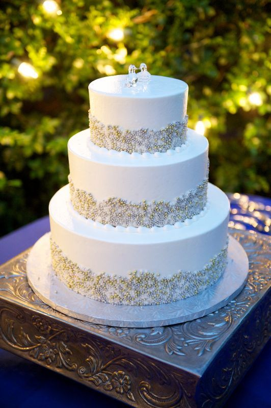 Pictures of your non-fondant cake... : wedding buttercream cake ...