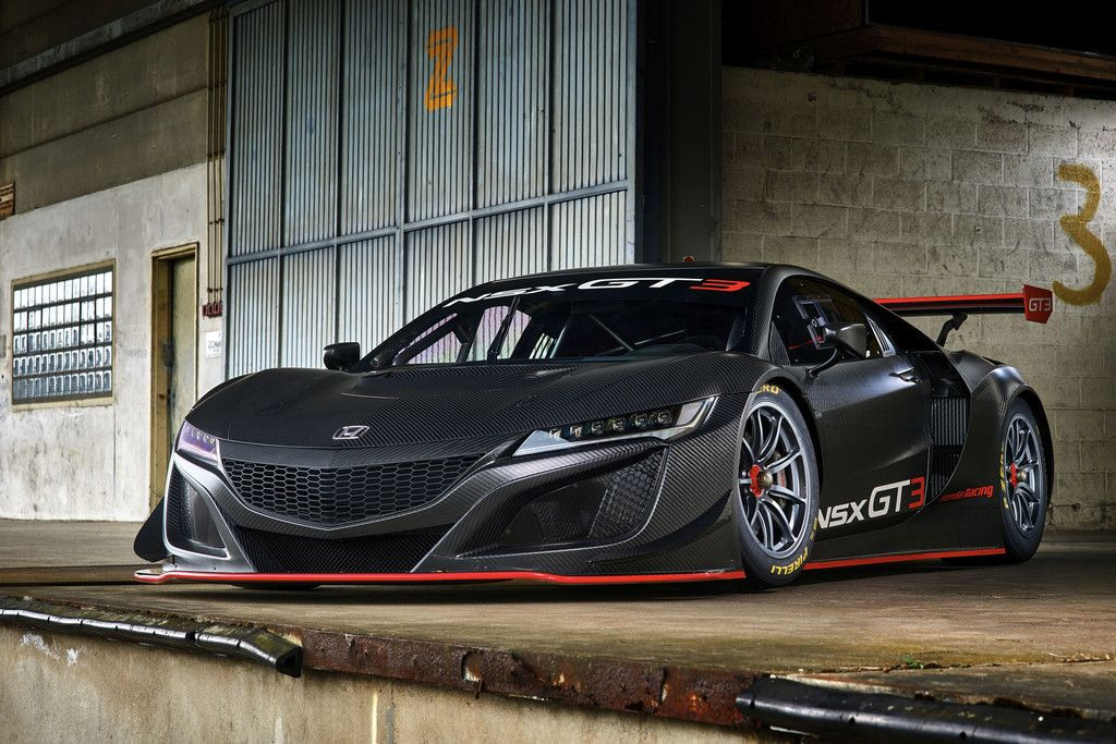 Honda Acura Nsx Gt Sports Car Wallpaper