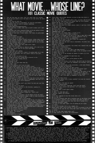 Movie Quotes Contains Some Profanity Prints With Images
