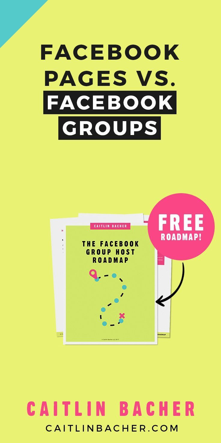 Facebook Pages Vs Facebook Groups  Group Business And Facebook