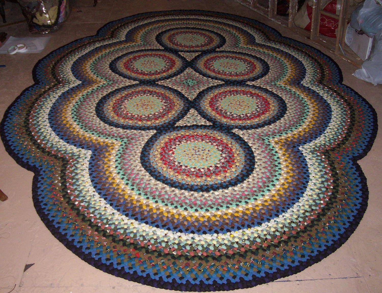 Deposit For Custom Order New Hand Handmade Wool 6 Circle