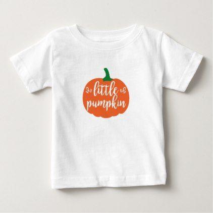 #Little Pumpkin Halloween Tshirt - #Halloween happy halloween #festival #party #holiday