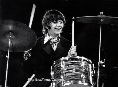 Ringo at final Candlestick Park performance 1966