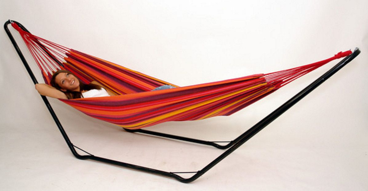 Indoor Hammock Bed With Stand