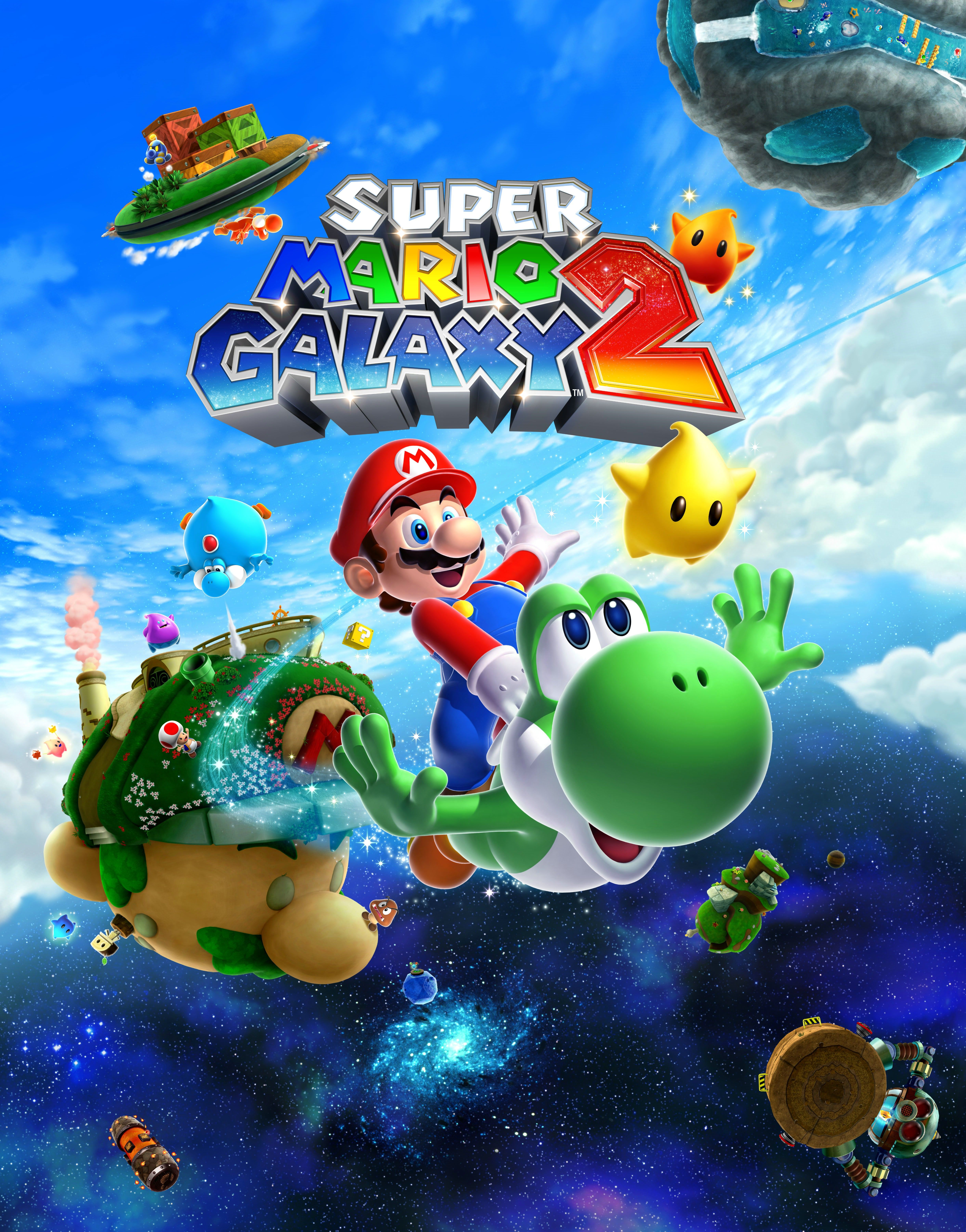 Super Mario Galaxy 2 Such a beautiful fun game for the Wii... it s  definitely my fav game for Wii. 61c5a6db6a4f
