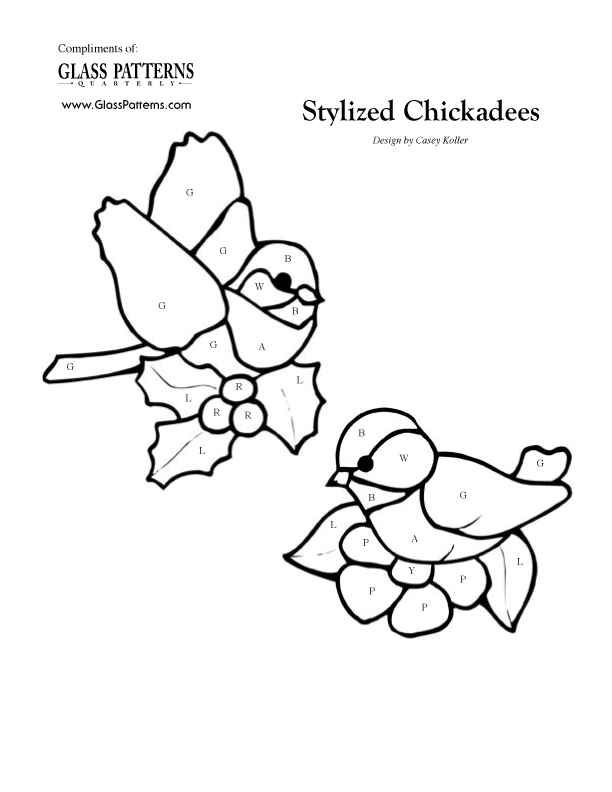 Stained Glass Patterns For Free Glass Pattern 379