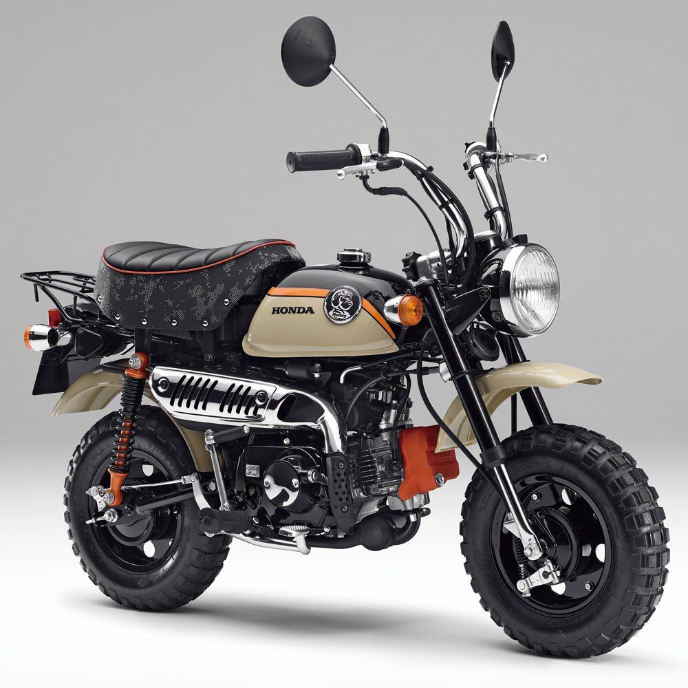 Honda Monkey 2016 Model, Adventure Colour For The Year Of